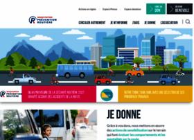 Preventionroutiere.asso.fr thumbnail