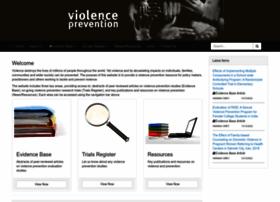 Preventviolence.info thumbnail