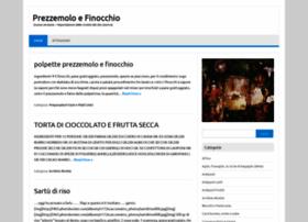 Prezzemoloefinocchio.it thumbnail