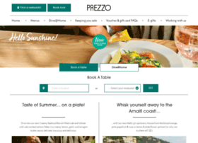 Prezzo.co.uk thumbnail