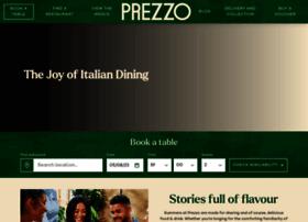 Prezzorestaurants.co.uk thumbnail