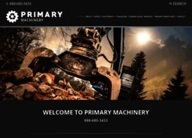 Primarymachinery.com thumbnail