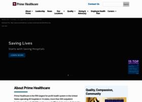 Primehealthcare.com thumbnail