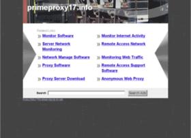 Primeproxy17.info thumbnail