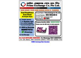 Primexchange.com.sg thumbnail