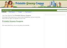 Printable-grocery-coupon.com thumbnail