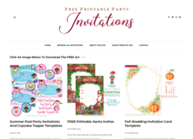 Printablepartyinvitations.blogspot.com thumbnail