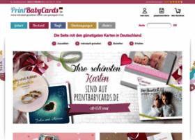 Printbabycards.de thumbnail