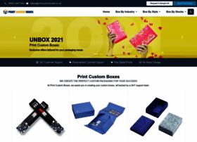 Printcustomboxes.co.uk thumbnail