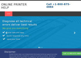 Printer-online-support.info thumbnail