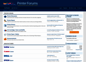 Printerforums.net thumbnail