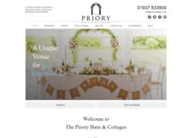 Priorycottages.co.uk thumbnail