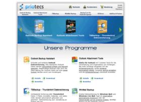 Priotecs.com thumbnail