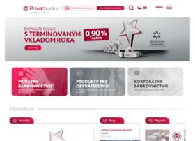 Privatbanka.sk thumbnail