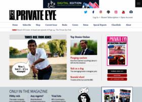 Private-eye.co.uk thumbnail