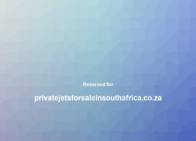 Privatejetsforsaleinsouthafrica.co.za thumbnail