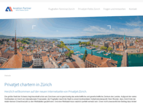 Privatjet-zuerich.ch thumbnail
