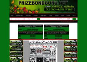 Prizebondguru.net thumbnail