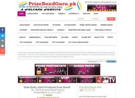 Prizebondguru.pk thumbnail
