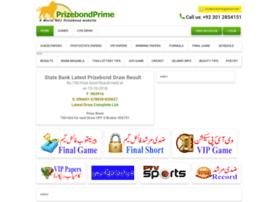 Prizebondprime.com thumbnail