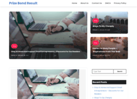 Prizebondresult.net thumbnail