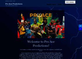 Pro-ace-predictions.co.uk thumbnail
