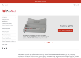 Pro-bind.com thumbnail