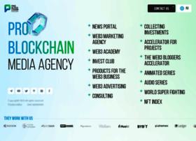 Pro-blockchain.com thumbnail