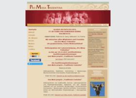 Pro-missa-tridentina.de thumbnail