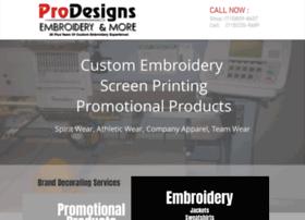 Prodesigns.co thumbnail