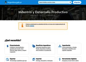 Produccion.gob.ar thumbnail