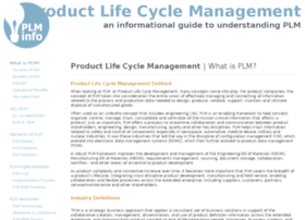 Product-lifecycle-management.info thumbnail