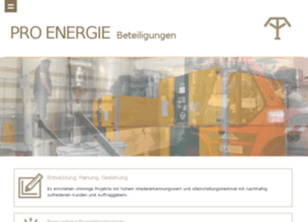 Proenergie.one thumbnail