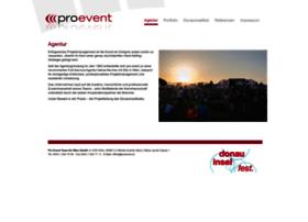 Proevent.at thumbnail