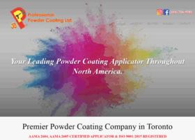 Professionalpowdercoating.ca thumbnail