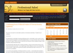 Professionalsales.com.au thumbnail