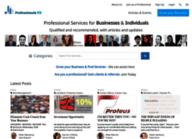 Professionalsuk.co.uk thumbnail