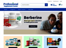Professionalsupplementcenter.com thumbnail