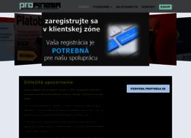 Profinesa.sk thumbnail