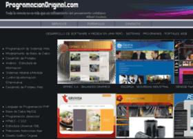 Programacionoriginal.com thumbnail