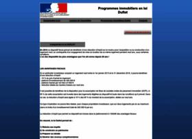 Programme-immobilier-loi-duflot.org thumbnail