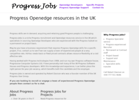 Progressjobs.co.uk thumbnail