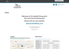 Prohealthchiro1.com thumbnail