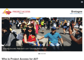 Projectaccessnyc.org thumbnail