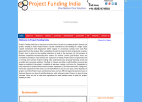 Projectfundingindia.com thumbnail