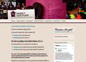 Projectsanctuary.org thumbnail