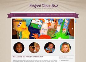 Projectshoebox.org thumbnail