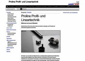 Proline-vertrieb.de thumbnail