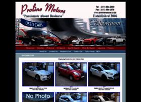 Prolinemotors.co.za thumbnail