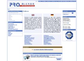 Promicron.de thumbnail